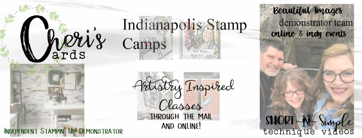 Cheri's Cards, Independent Stampin' Up! Demonstrator