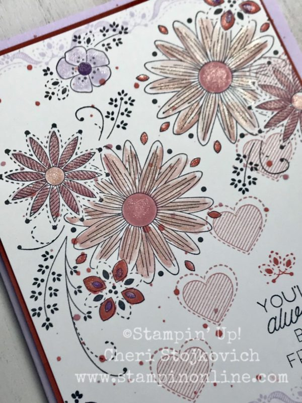 A Little Lace and Some New In Color Inspiration! Stampin' Up!