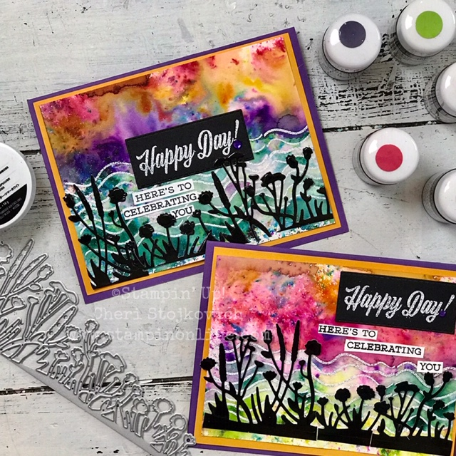 New Stampin Up Pigment Powder Tutorial Featuring Friends Like You