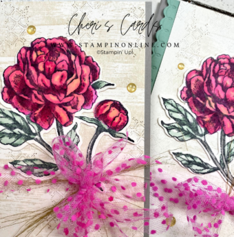 Prized Peony Blends Coloring Tutorial Stampin' Up!