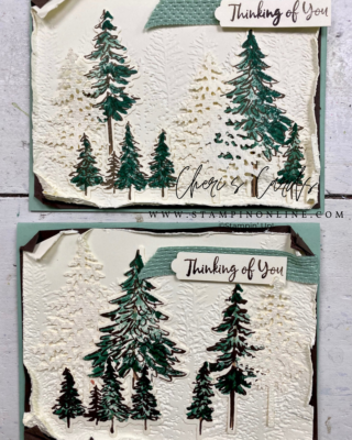 Stampin' Up! In the Pines August- December Mini Catalog